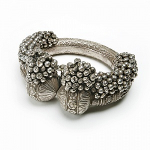India | Decorative silver anklet | 20th century