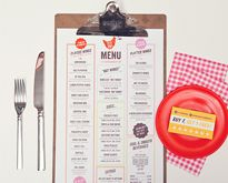 35 Beautiful Restaurant Menu Designs