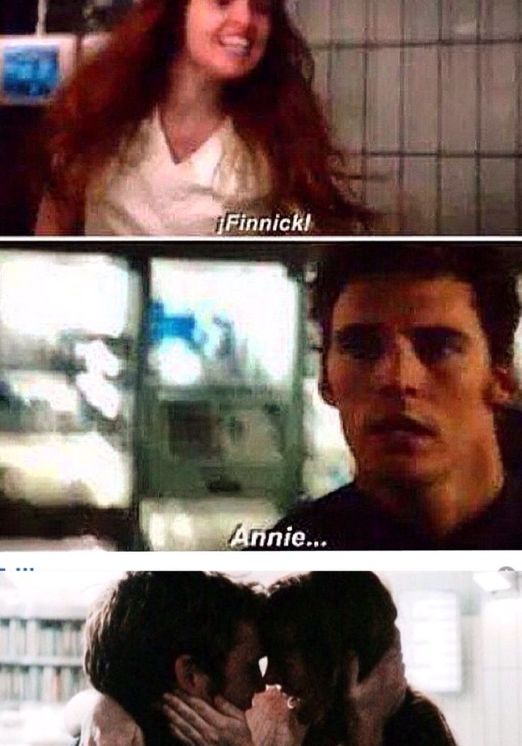Finnick and Annie just adorable!!!! | The Hunger Games ...