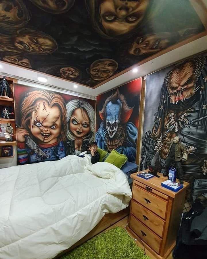 Horror Bedroom Horror Bedroom Halloween Bedroom Decor Halloween Bedroom