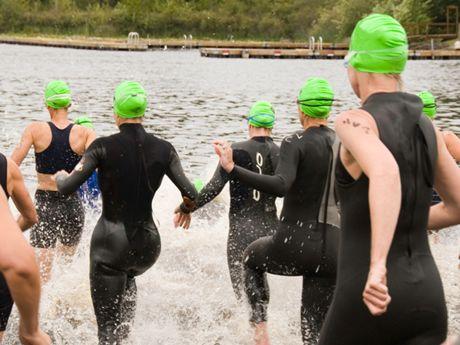3 Steps to a Panic-Free Triathlon Swim Start