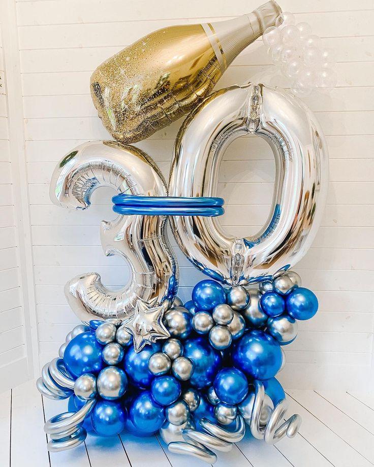 """B A L L O O N H I V E on Instagram: """"THE BIG 3 0 . . . . #bespokeballoons #balloongarland #luxuryballoons #customballoons #balloonideas #balloonartist #balloons…"""""""