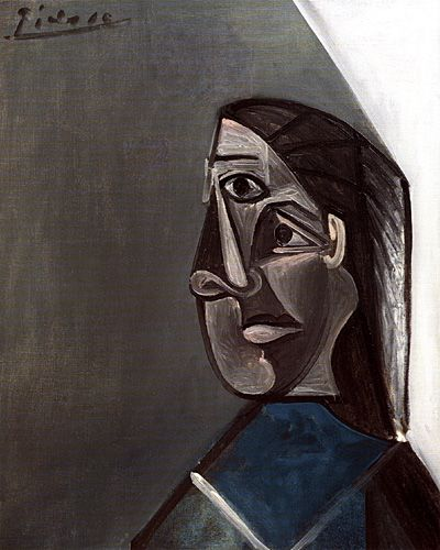PORTRAIT OF DORA MAAR, Pablo Picasso, 1942 © 2001 Estate of Pablo Picasso/Artists Rights Society (ARS), New York