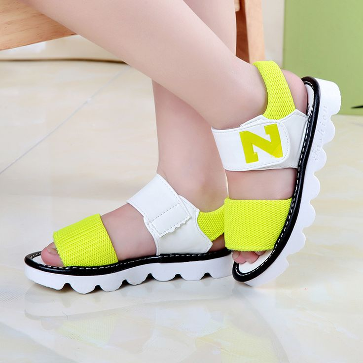 >> Click to Buy << 6 female child sandals female 2016 primary school students 12 8 9 girl child princess 5 summer 10  #Affiliate