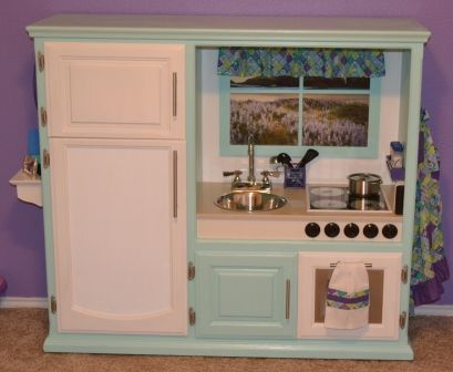Repurposed entertainment center