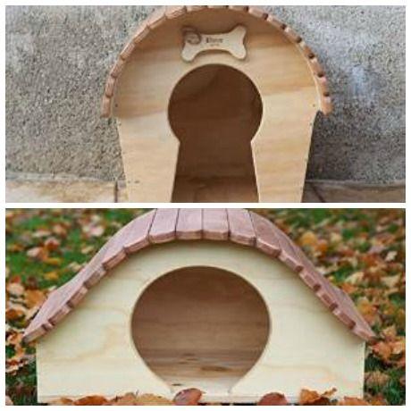 Casetas para perros de exterior casetas divinas pinterest for Casetas para almacenaje exterior