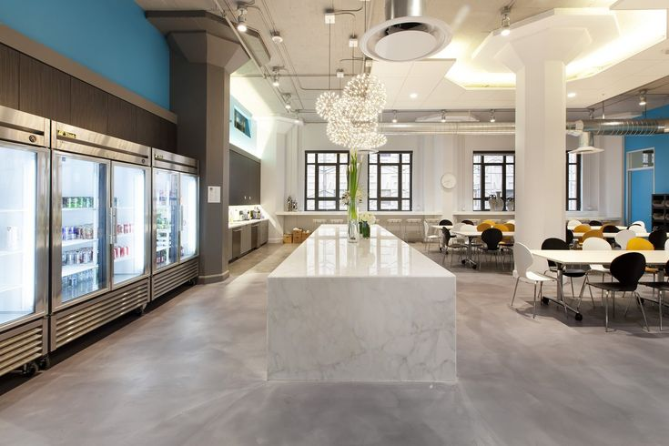 Yammer's Office Cafeteria Design