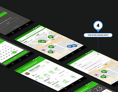 """Check out new work on my @Behance portfolio: """"Mobile Parking App - ParkingFriend"""" http://be.net/gallery/58816935/Mobile-Parking-App-ParkingFriend"""