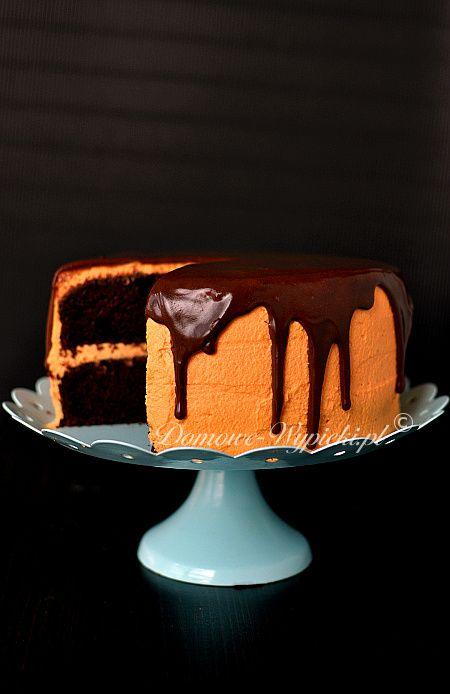 Tort dyniowo- czekoladowy
