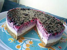 Te lingi pe degete! Cheesecake cu afine: o prăjitură delicioasă, foarte uşor de făcut, care nu necesită coacere | Food a1.ro
