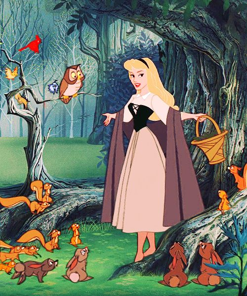 *BRIAR ROSE ~ Sleeping Beauty (1959)