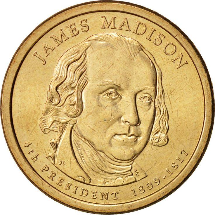 United States, Dollar, Madison, 2007, Philadelphia, MS(63), KM:404
