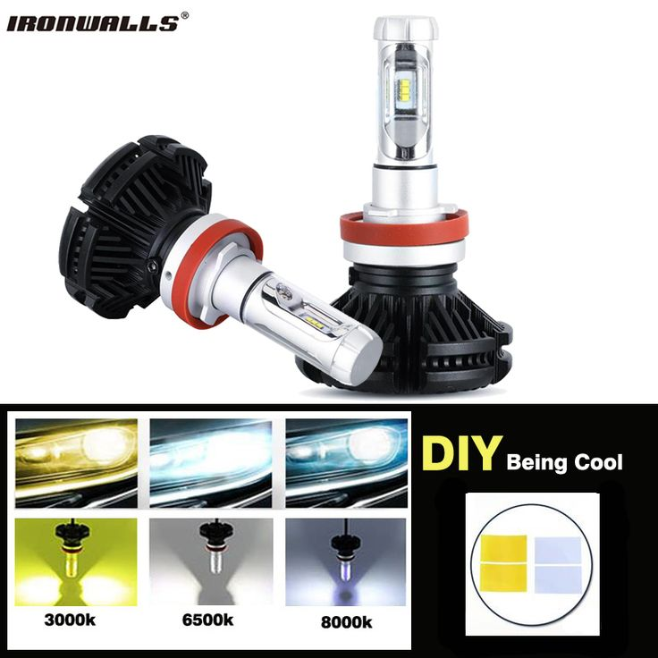 ==> [Free Shipping] Buy Best Ironwalls 50W 6000lm H4/H7/H11/H13/9005/9006 Car LED Headlight Bulbs CREE Chips Hi-Lo Beam Fog Light 3000K 6500K 8000K 12V 24V Online with LOWEST Price | 32787525664