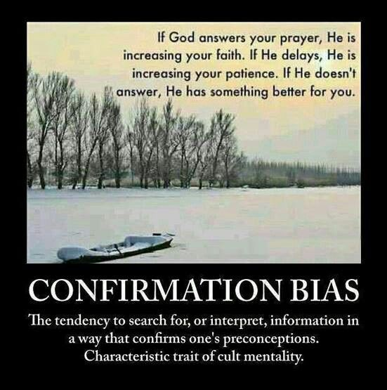 Confirmation Bias. I am so thankful that I'm an EX-mormon; I know it, I live it, I LOVE it!!! (PP)