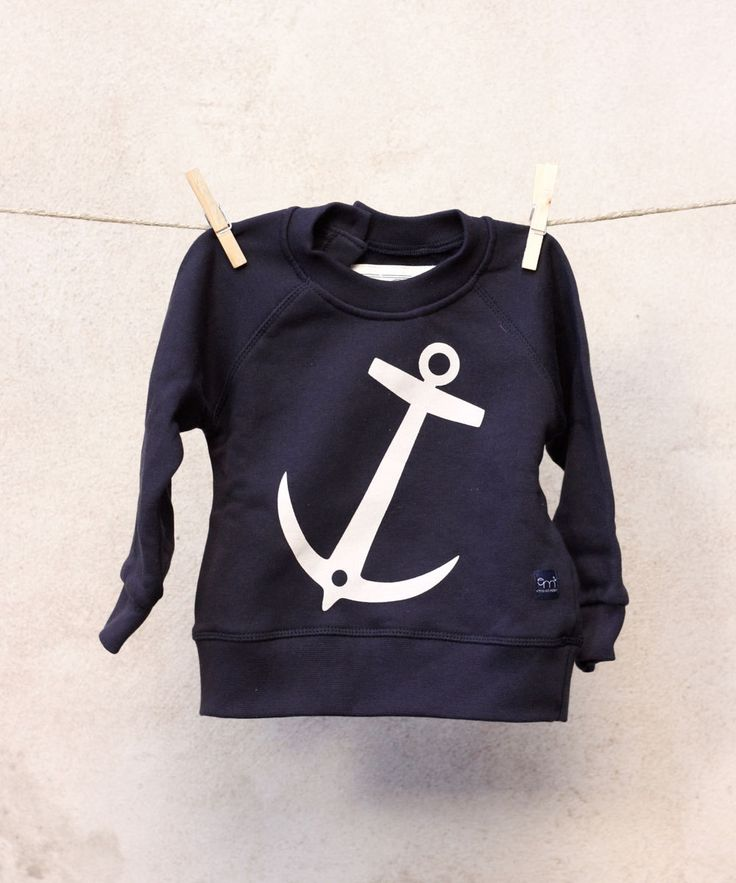 Anchor Sweatshirt - Navy / Emma & Malena - Söt by Sweden