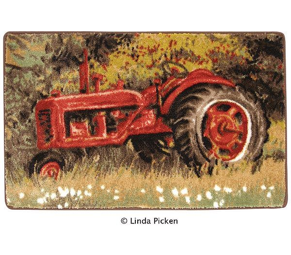 Farmall rug not a bad price either for the home for International decor bath rugs