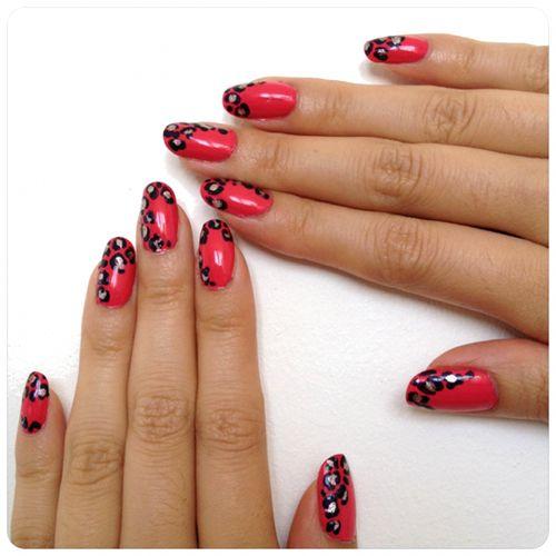 Diy Snow Leopard Nail Art: 17 Best Ideas About Leopard Print Nails On Pinterest