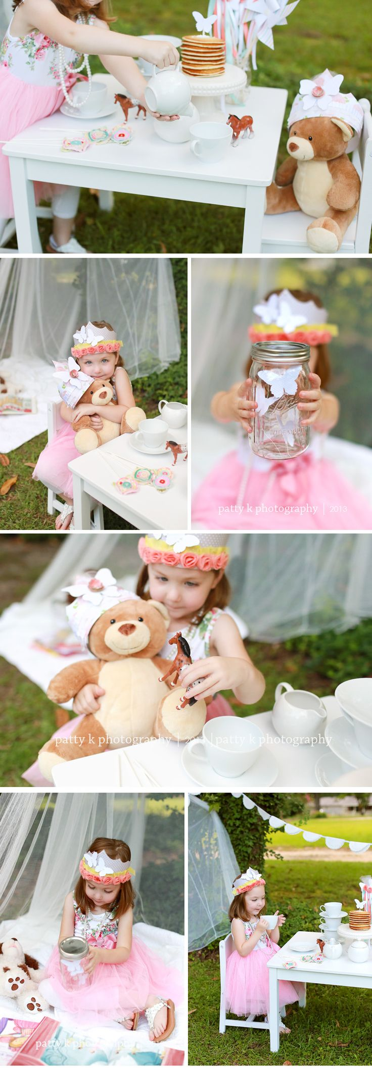Enchanted Tea Party Minis | Imagination Session | Raeford, NC Child Photographer | PATTY K PHOTOGRAPHY