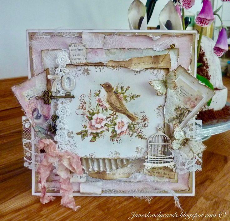 70th Birthday Card - Jane Johnson - Stempelglede :: Design Team Blog