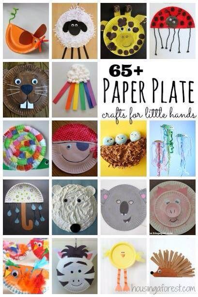 Paper plate activities!