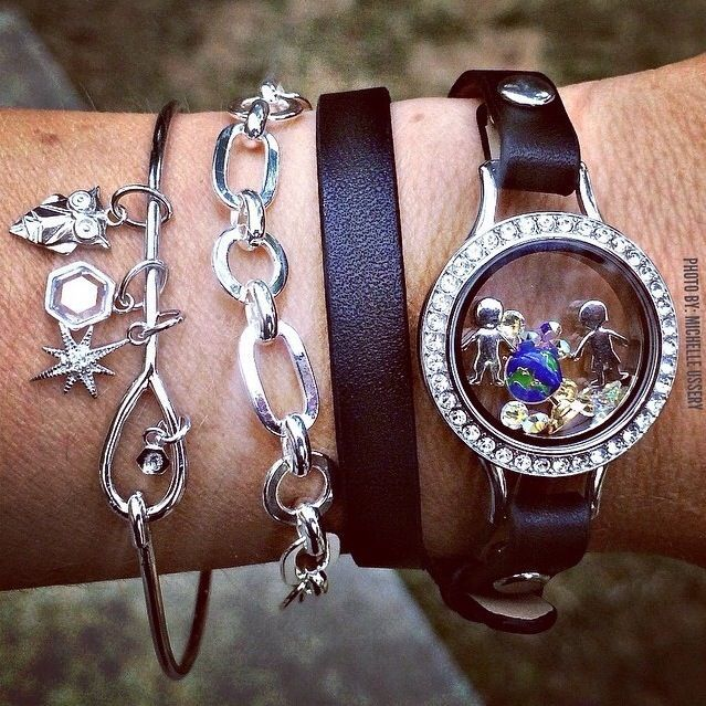 Origami Owl Bangle Bracelet - photo#3