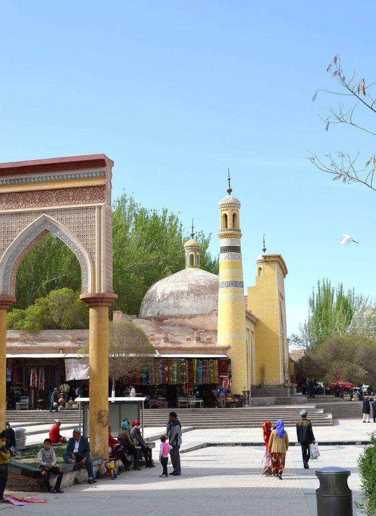 Kashgar mosque, Urumqi, Xinjiang, China