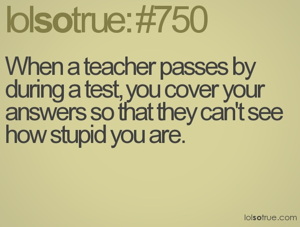 ya thats why i hate it when they grade them. :( better than my friend grading it....