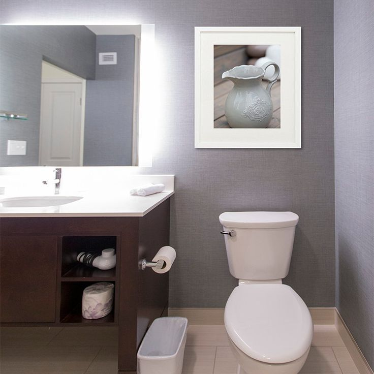 Bathroom Art Grey: 1000+ Ideas About Grey Bathroom Decor On Pinterest