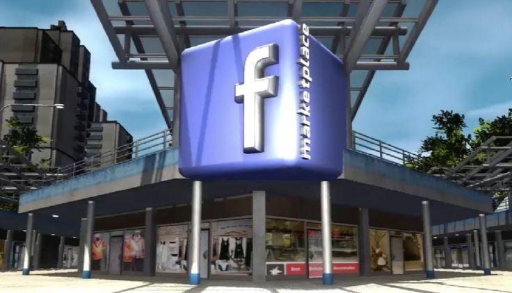 Concepto de lo que #Facebook podría hacer con su nuevo dispositivo de realidad virtual, #Oculus.