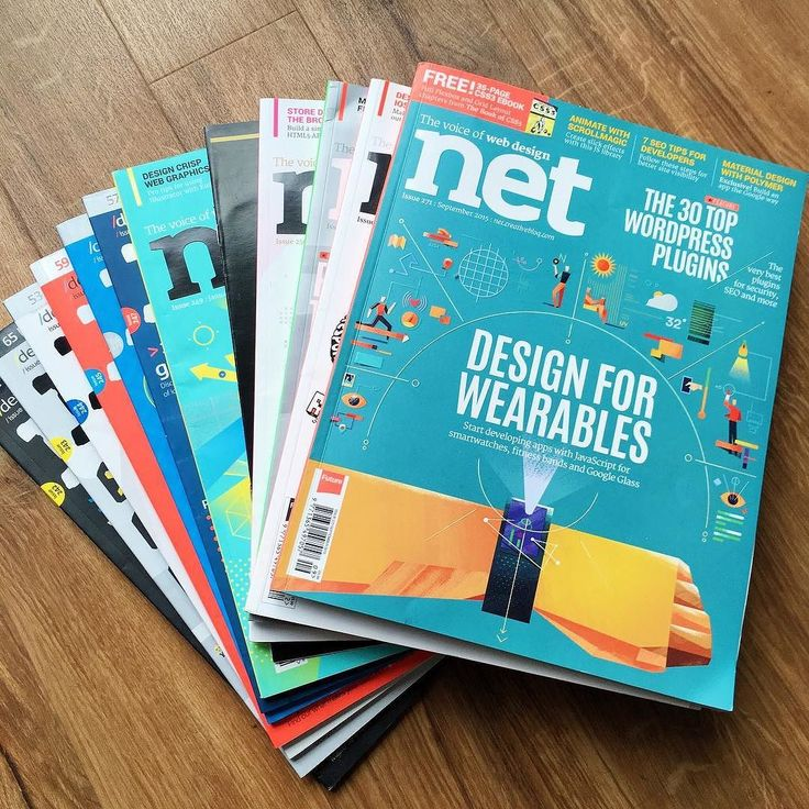 Found a huge stash of .net magazines. So much design/development inspiration inside these. Highly recommended! by bytebubble