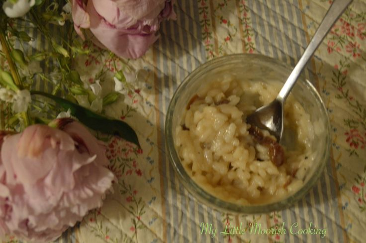 Riz au lait de coco, rhum et fruits secs  #sansgluten #sanslactose