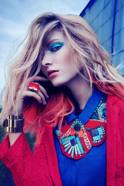 Colorful Fashion Photography