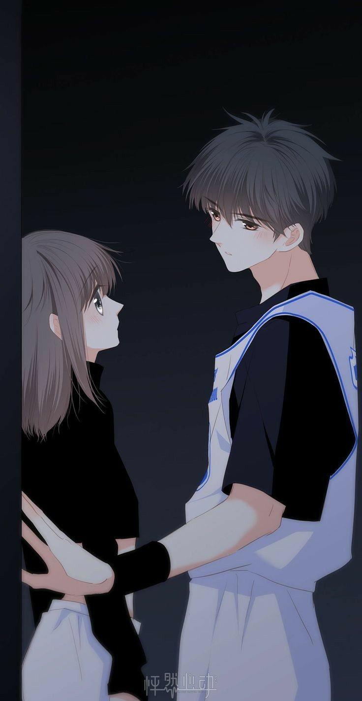 Pin On Anime Love Anime love couple wallpaper