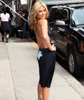 Get the body you've always wanted with the Kelly Ripa workout today! - Shape.com