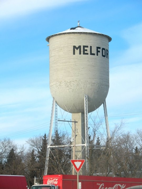 Iconic water tower