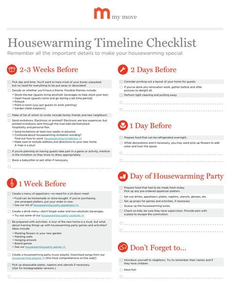 perfect timing! Who knew there was a house-warming party checklist :D