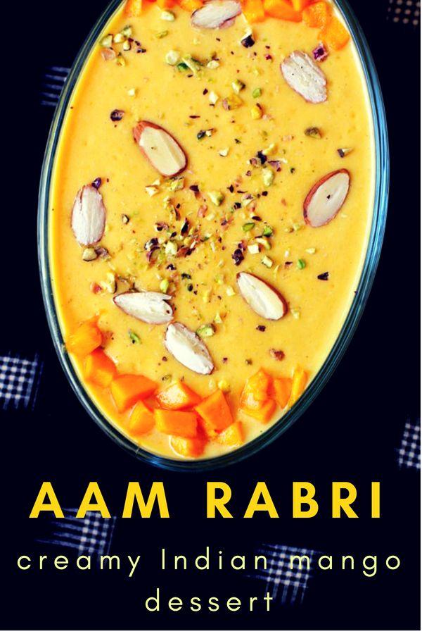 Mango Rabri Recipe How To Make Mango Rabri Aam Ki Rabri Recipe Rabri Recipe Recipes Rabdi Recipe