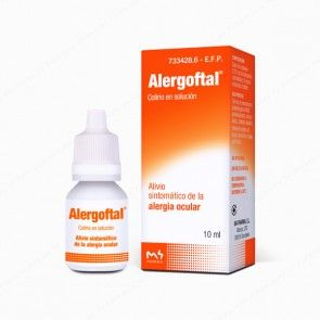 ALERGOFTAL Lab: M4 Pharma Dosis: 5/0,25 mg/ml F.F.: colirio Indicaions: alleujament simptomàtic de conjuntivitis al·lèrgica