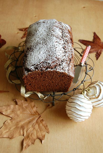 Chocolate pain d'epice / Pain d'épice de chocolate by Patricia Scarpin, via Flickr