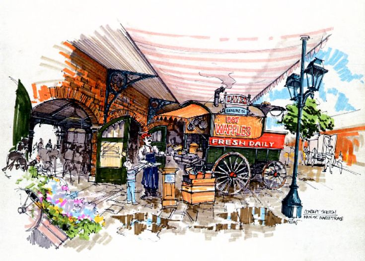 Street Food Of Paris