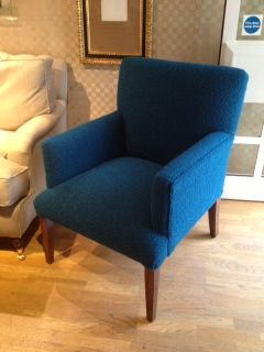 Storr 0715 on display at Chelsea Harbour, on David Seyfried's Wardour chair