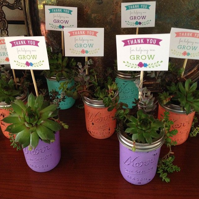 Gift Plants And Plant Ideas Perfect Container Garden For You: Flower Decorated Box Teacher GIft