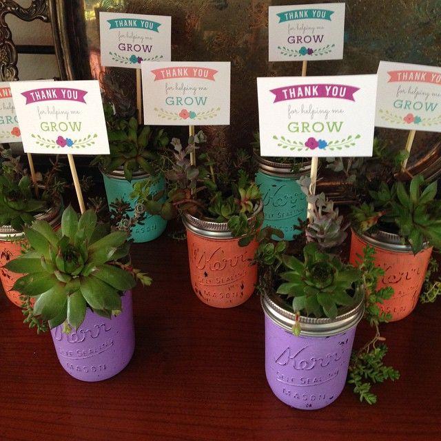 Flower Decorated Box Teacher GIft - seven thirty three