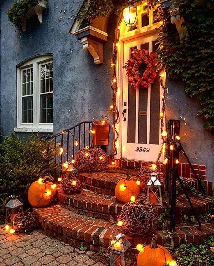48 Erstaunliche Deko-Ideen für den Herbst im Freien, die Sie faszinieren werden