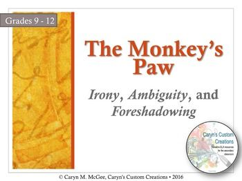 the monkeys paw literary response essay Selection test scorescore the monkey's paw  when the monkey's paw moves in his hand, mr white's response could best be  interest in the monkey's paw.