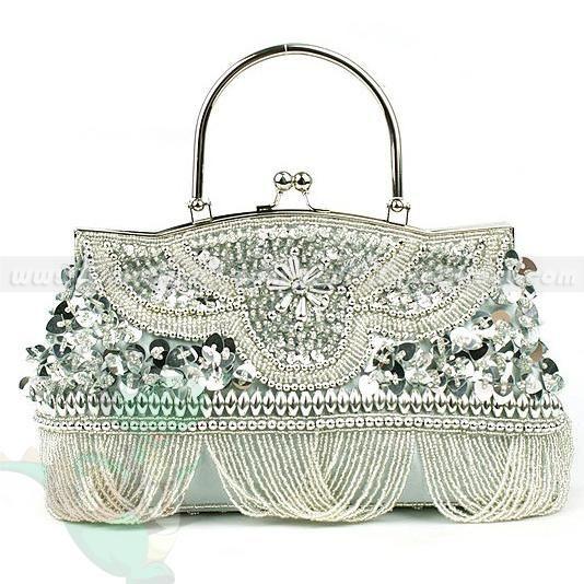 picture of beaded purses | Wholesale Women Beaded Sequin Evening Clutch Purse - DinoDirect.com