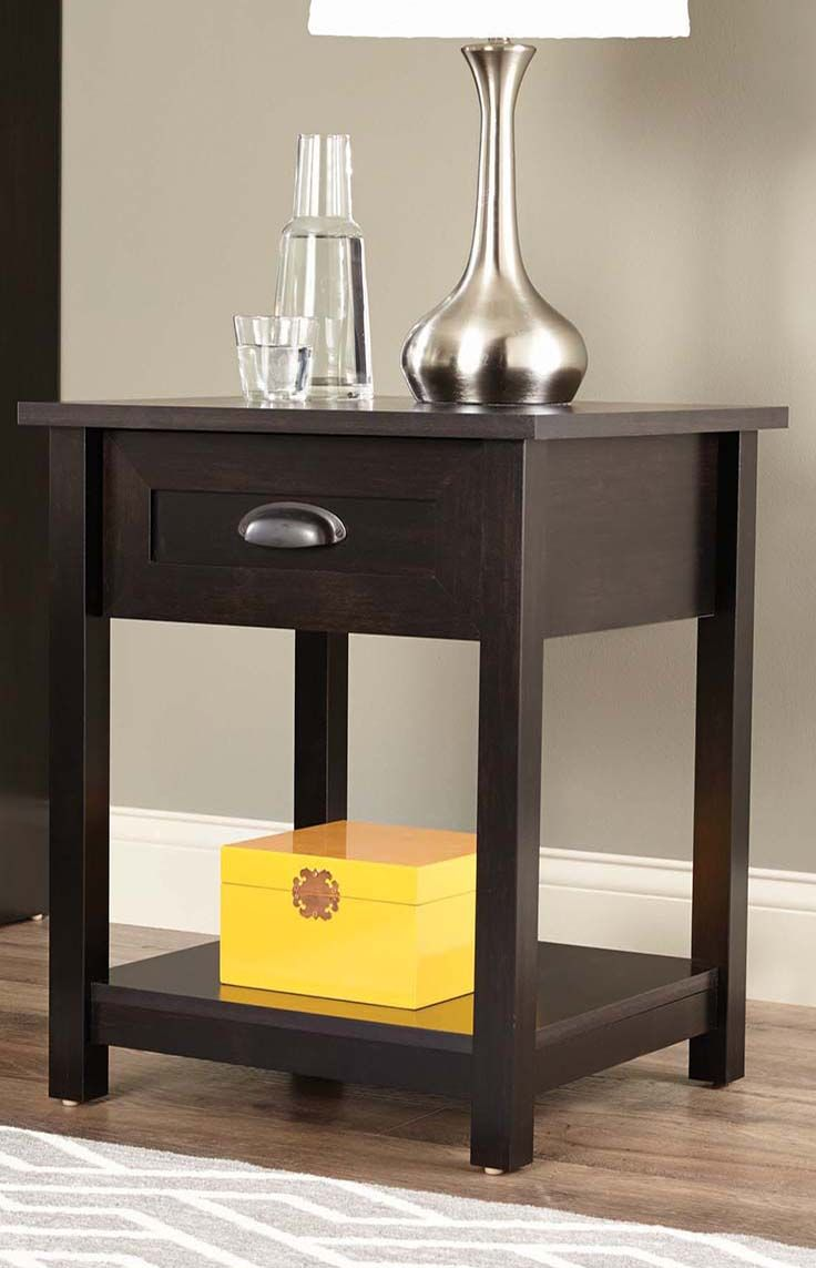 Better Homes And Gardens Lafayette Side Table, Multiple Finishes