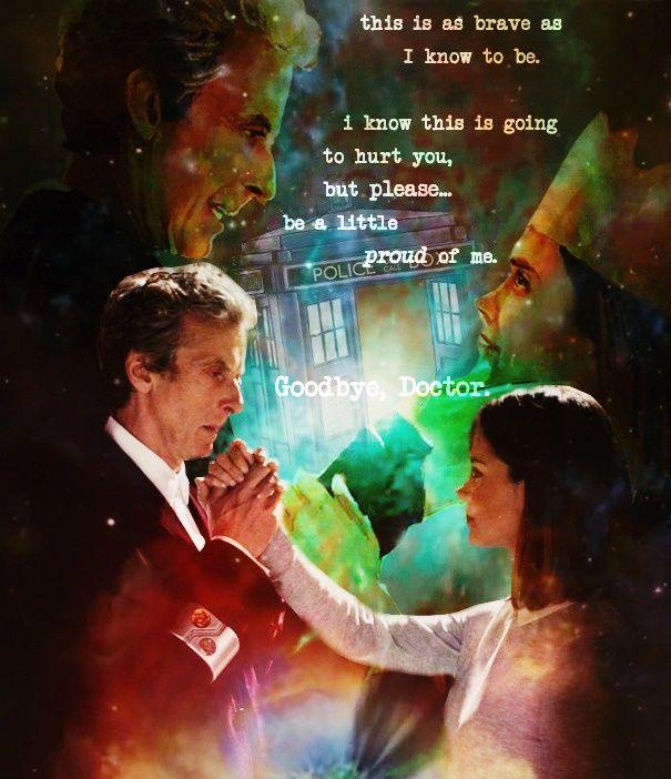 """Goodbye, Doctor"" -Clara Oswald"