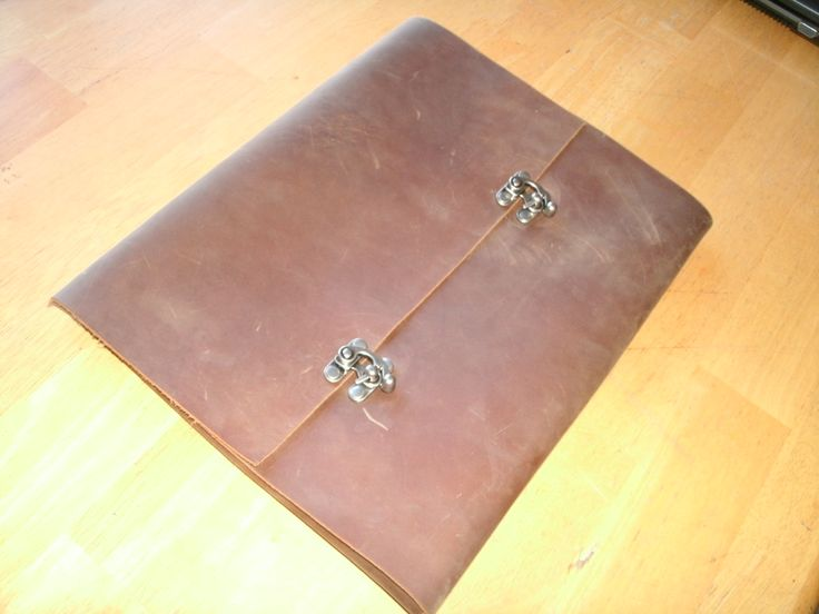 Distressed Leather Portfolio Case!!!   Hand Crafted High Quality   Leather Resume  Portfolio  Resume Portfolio Holder