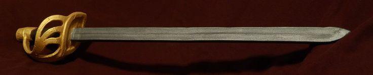 French heavy cavalry sword - LARP remake